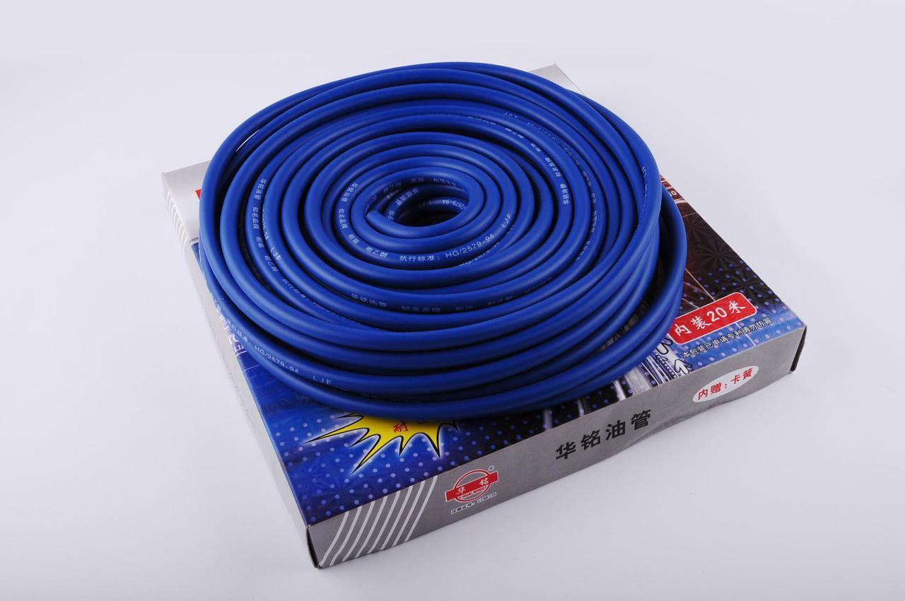 Шланг топливный Ø4мм, 20 метров (силиконовый, синий)