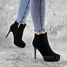 Ботильоны женские Fashion Dice 2250 39 размер 25 см Черный, фото 2