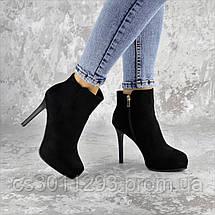 Ботильоны женские Fashion Dice 2250 39 размер 25 см Черный, фото 3