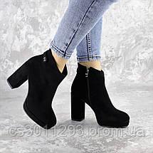 Ботильоны женские Fashion Smooches 2408 35 размер 23 см Черный, фото 2