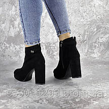 Ботильоны женские Fashion Smooches 2408 35 размер 23 см Черный, фото 3