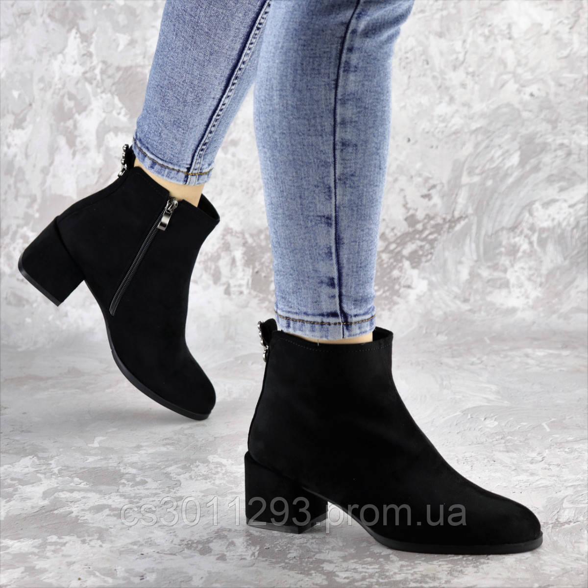 Ботильоны женские Fashion Tyrone 2414 36 размер 23,5 см Черный