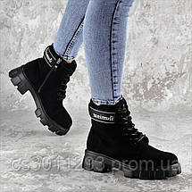Ботинки женские Fashion Gouda 2260 36 размер 23,5 см Черный, фото 2