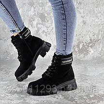 Ботинки женские Fashion Gouda 2260 36 размер 23,5 см Черный, фото 3