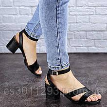 Женские босоножки Fashion Woozie 1838 36 размер 23 см Черный
