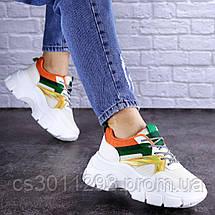 Женские кроссовки Fashion Jeter 1753 36 размер 22,5 см Бежевый, фото 2