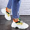 Женские кроссовки Fashion Jeter 1753 36 размер 22,5 см Бежевый, фото 5