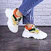 Женские кроссовки Fashion Jeter 1753 36 размер 22,5 см Бежевый, фото 6
