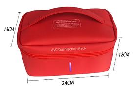 Переносной  детский стрелизатор  универсальный UVC-LED Оранжевый (hub_BSuq10883)