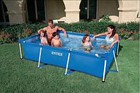 Бассейн каркасный Rectangular Frame Pool Intex 28272 (58981) (200х300х75 см. )