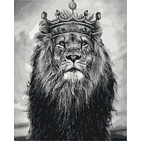 Картина по номерам Идейка Король лев 50х40 (KHO4079)