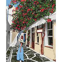 Картина по номерам Уютными улочками 40х50 см (KHO2263)