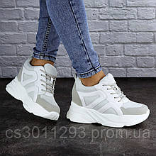 Сникерсы женские Fashion Atlas 2102 38 размер 24 см Белый