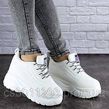Сникерсы женские Fashion Oney 1816 40 размер 25 см Белый