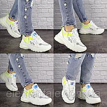 Женские кроссовки Fashion Gabbie 1517 38 размер 24 см Белый