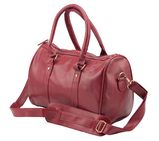 Женская сумка Hot Cat | Red с плечевым ремешком