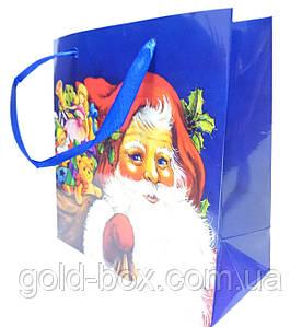 """Новогодний подарочный пакет """"Дед Мороз"""""""