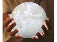 Настольный Светильник Ночник Луна 3D Moon Lamp Премиум