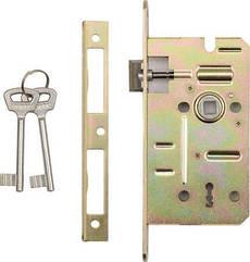 Замок Врезной(60/50 мм)Для Двери Под Ключ VOREL 78491