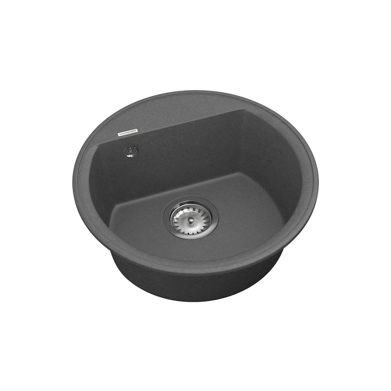 Кухонная мойка Vankor Easy EMR 01.45 Gray+ сифон Vankor