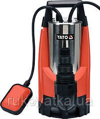 Насос для брудної води мережевий 1100 Вт, 14 м / Год, макс. висота - 10 м, макс. глибина 7 м YATO YT-85343