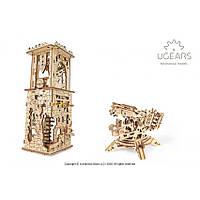 Башня-Аркбалиста (292 деталей) - механический 3д пазл