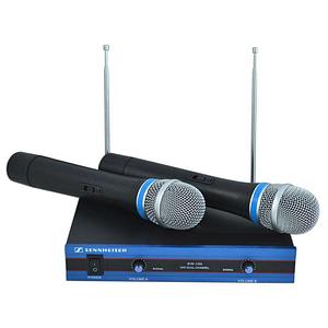 Радиосистема на 2 микрофона Sennheiser EW-100 Черный (mt-430)