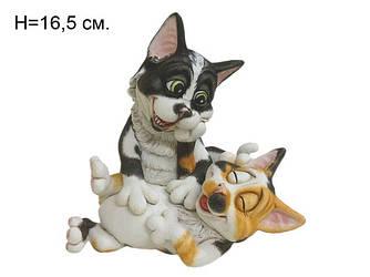 Фигурка Смешные пара котиков Alex and Jojo 16,5 см - подарок