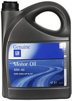 Моторное масло General Motors 10W-40, 5л