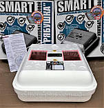 Инкубатор Рябушка Smart Turbo -70 цифровой с механическим переворотом,инфракрасным нагревателем, 12 в., фото 3