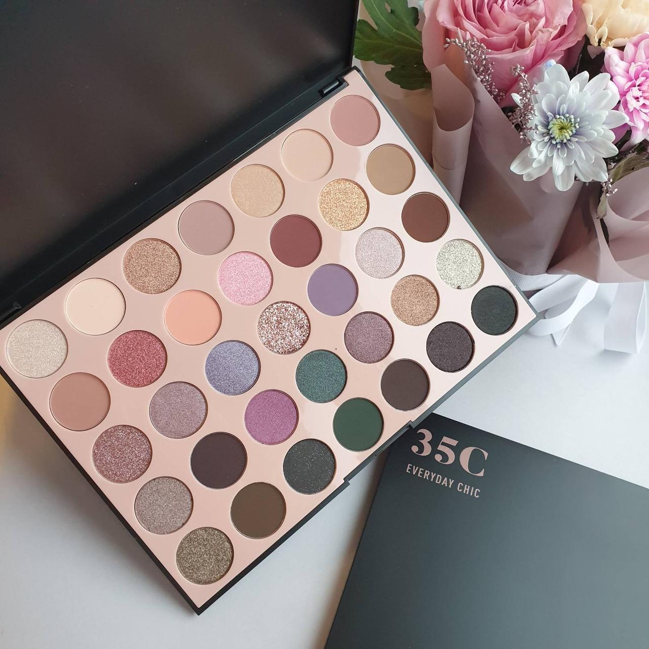 Палетка теней для век Morphe 35С Everyday Chic Artistry Eyeshadow Palette