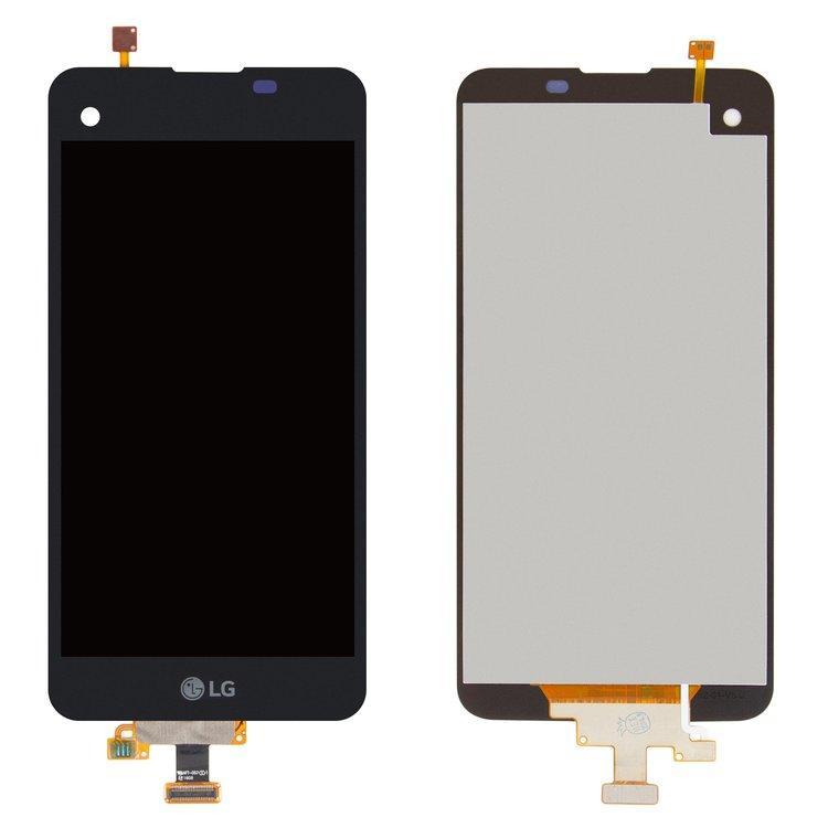 Дисплей (экран) для LG K500N X Screen з сенсором (тачскріном) черный