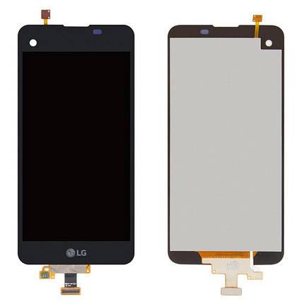 Дисплей (экран) для LG K500N X Screen з сенсором (тачскріном) черный, фото 2