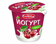 """Белорусский йогурт Вишня """"Моя Славита"""" 140 гр"""