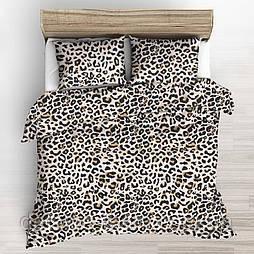 "Польська бязь ""Леопард  коричневий"", ширина 160 см"
