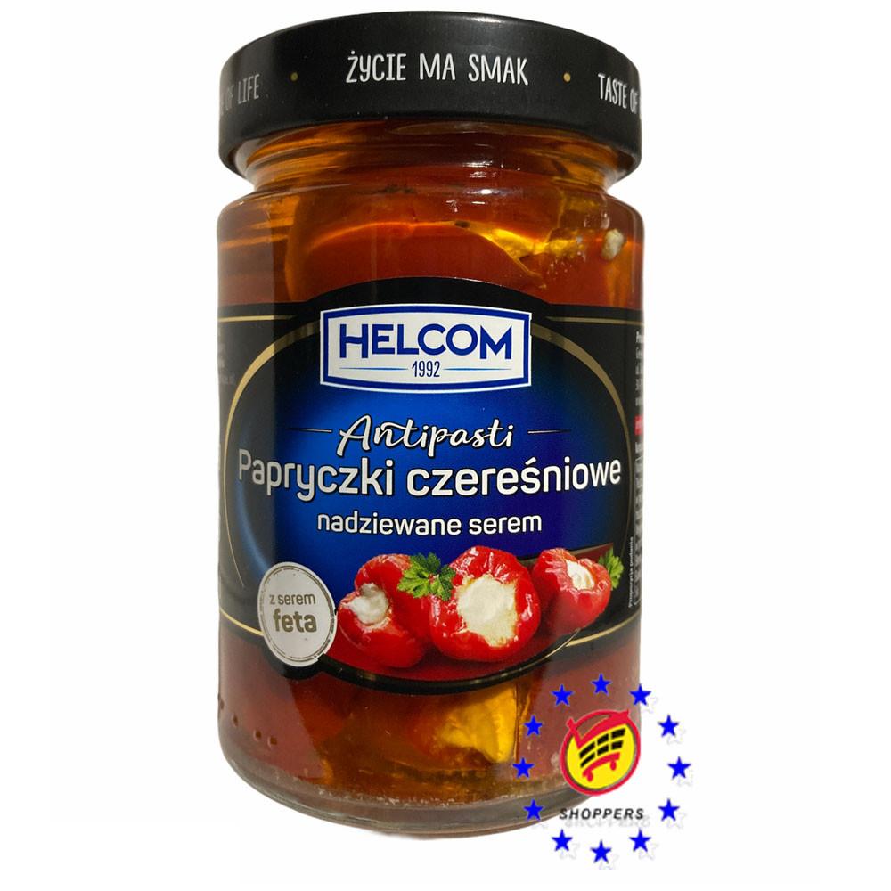 Перец фаршированный сыром фета Helcom 260г