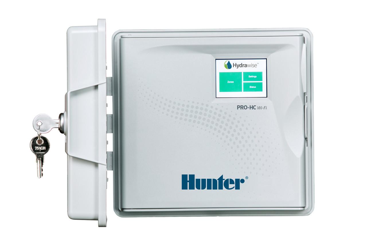 Контроллер полива Hunter PHC-1201-E (12 зон, наружный) Wi-Fi
