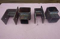 Крепление рессоры к раме прицепа ( под рессору 45мм)