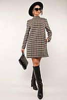 ✔️ Стильное повседневное платье Тотти 44-52 размеры в клетку разные расцветки