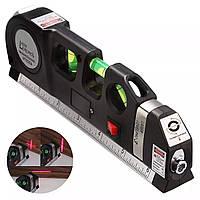Лазерный уровень со встроенной рулеткой Laser LEVELPRO3 (7124)