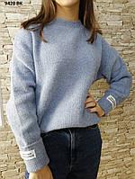 Жіночий светр з круглою горловиною 9420 ВК