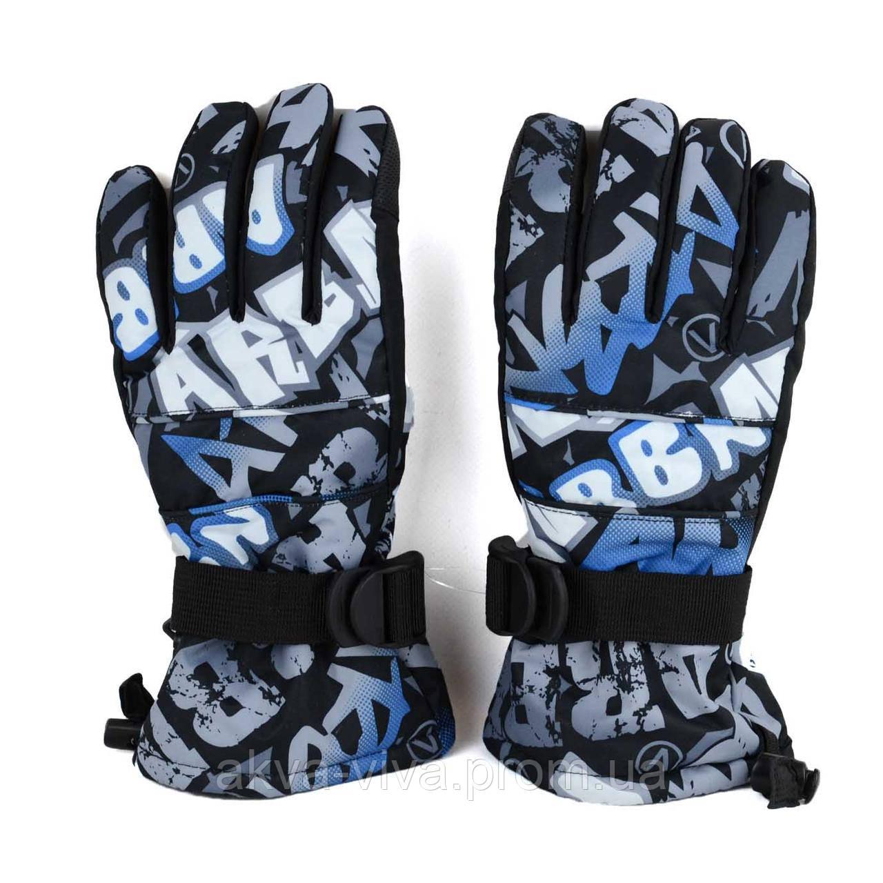 Перчатки лыжные с сенсорным покрытием (ЗП-1011)