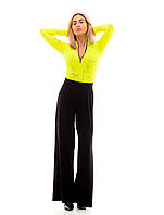 Женские летние брюки на широком поясе., фото 1
