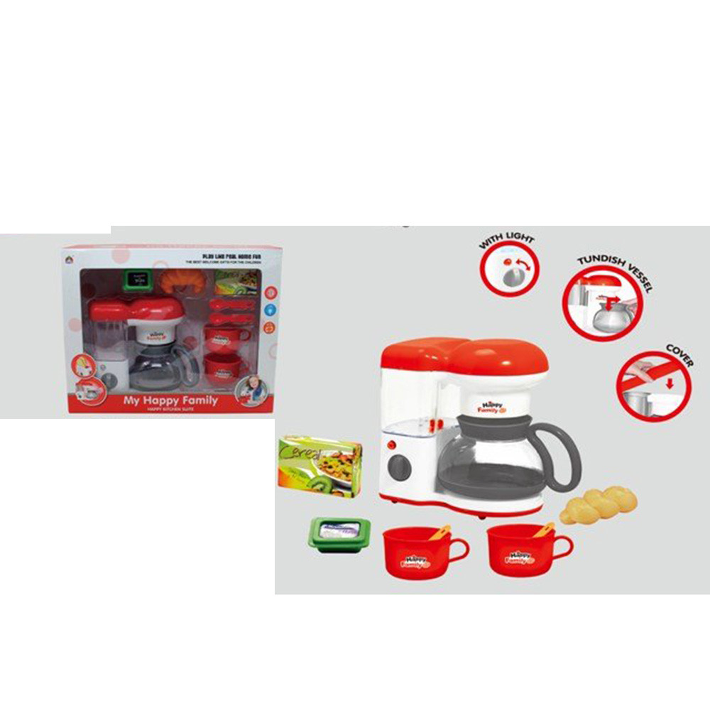 Кавоварка 5231C продукти, кухон. приладдя, ллється вода, муз., світло, бат., кор., 38,5-31-13,5 см