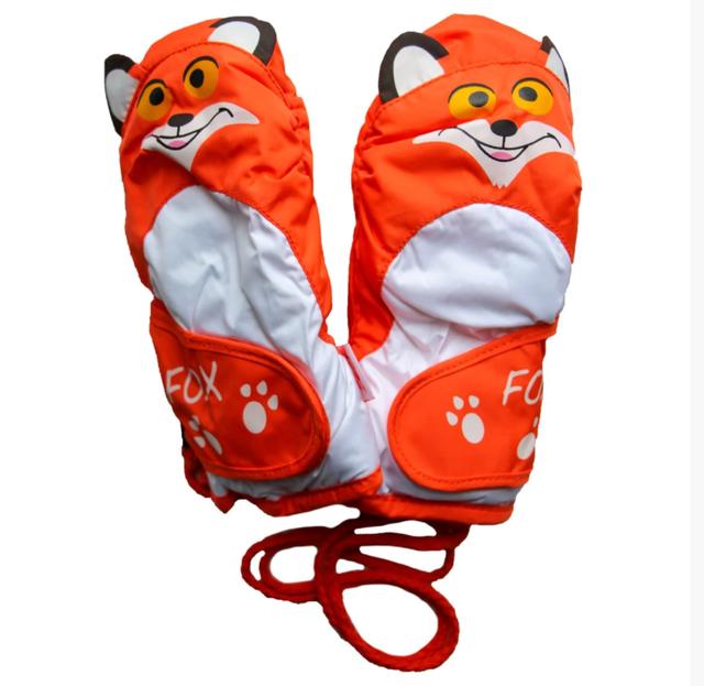 детские рукавички для снега