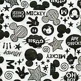 Реглан детский Микки р.98,104,110,116,122 SmileTime Cool Mickey, серый, фото 4