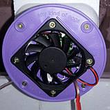 Инкубатор Рябушка Smart Turbo -70 цифровой с механическим переворотом,инфракрасным нагревателем, 12 в., фото 4
