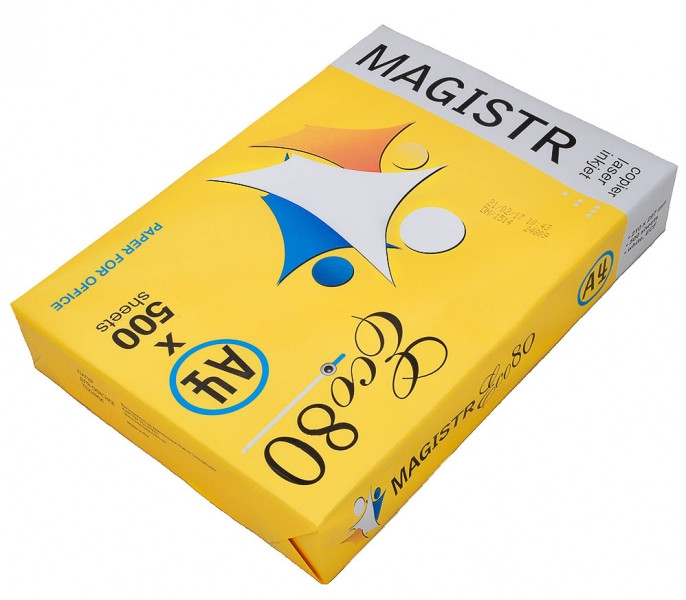Бумага А4 Magistr Eco 80(1-141)