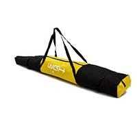 Чехол для транспортировки и хранения двух пар лыж WGH Черно-желтый