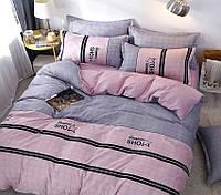 Комплекты постельного белья семейный размер из люкс-сатина с компаньоном S464